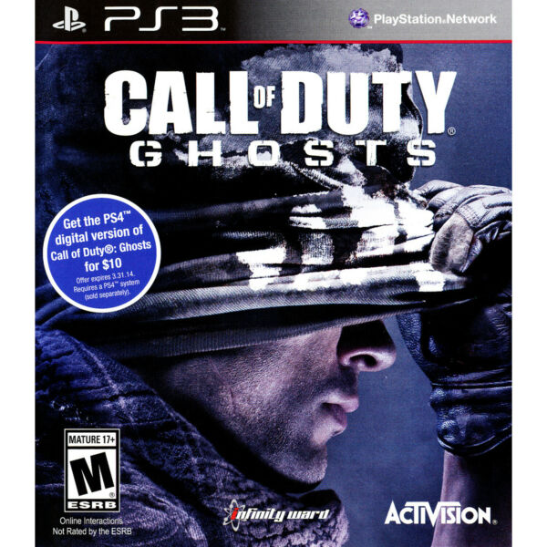 Call of Duty: Ghosts PS3 [Brand New]