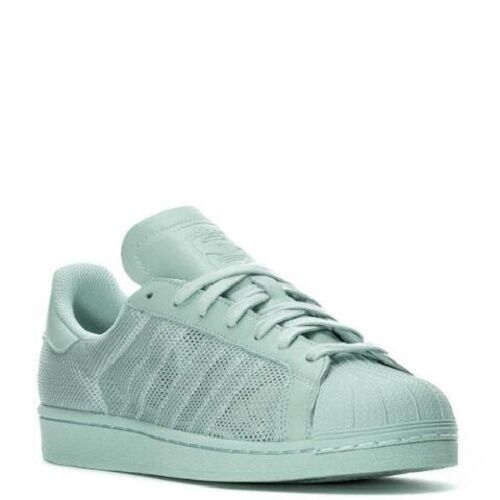 ADIDAS SUPERSTAR TRIPLE  SNEAKERS MEN SHOES VAPOUR GREEN BB3693 SIZE 10 NEW
