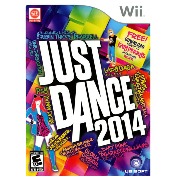 Just Dance 2014 Wii [Brand New]