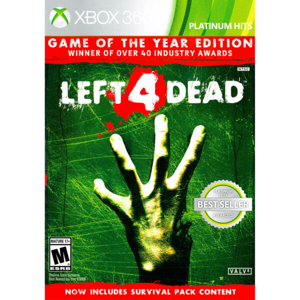 Left 4 Dead - Game of the Year Edition Xbox 360 [Brand New]
