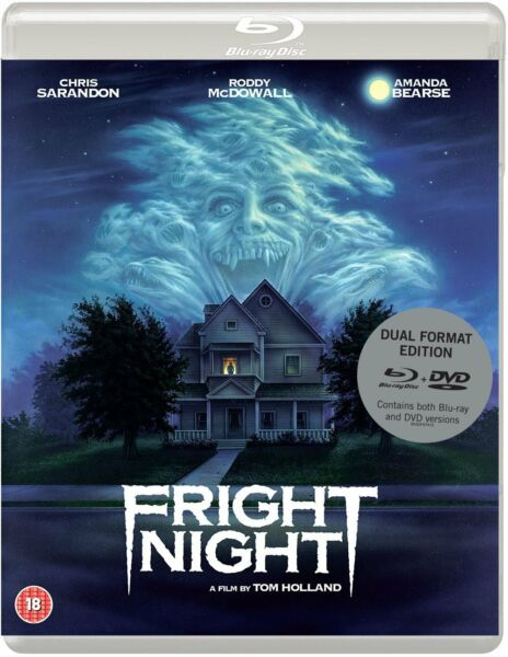 FRIGHT NIGHT 1985 Chris Sarandon Blu Ray DVD BRAND NEW Free Ship