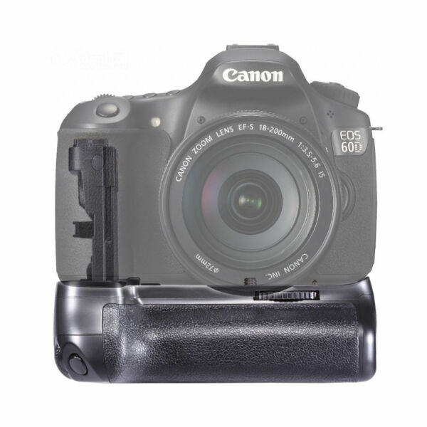New Vertical Battery Grip for Canon EOS 60D Work with LP-E6 &AA Battery as BG-E9
