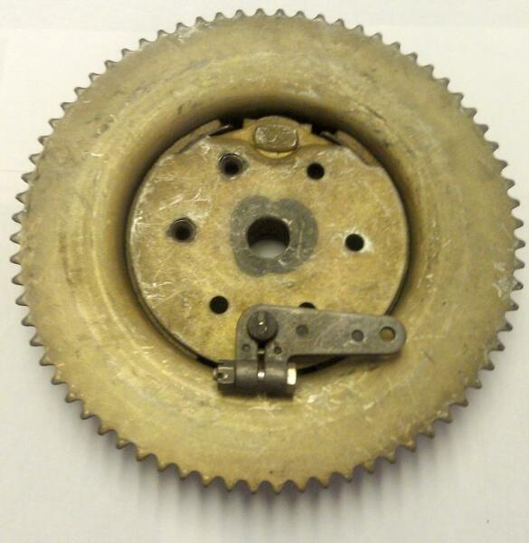 NOS Bendex Mini Bike 5quot; Internal Brake Assembly with Drum 72 Tooth #35 Chain $179.99