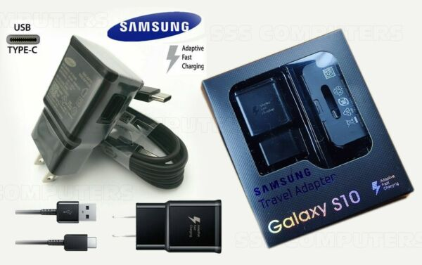 Lot OEM Samsung Galaxy S9 S9+ S8 S8 Note 8 Adaptive Fast Wall Charger