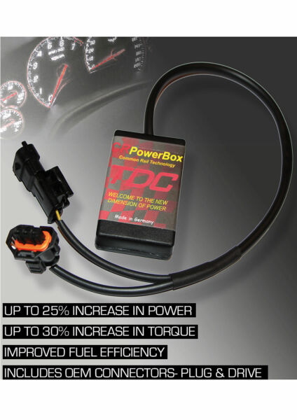 Power Box CR Diesel Chiptuning Performance Module for BMW Common Rail
