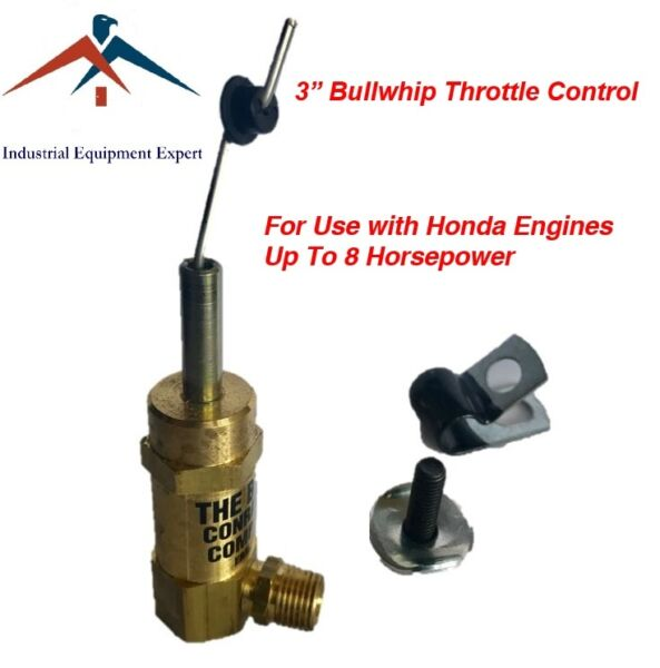 3quot; Bullwhip Throttle Control Cable Gas Air Compressor Unloader TCSA H 5565 SCT $18.99