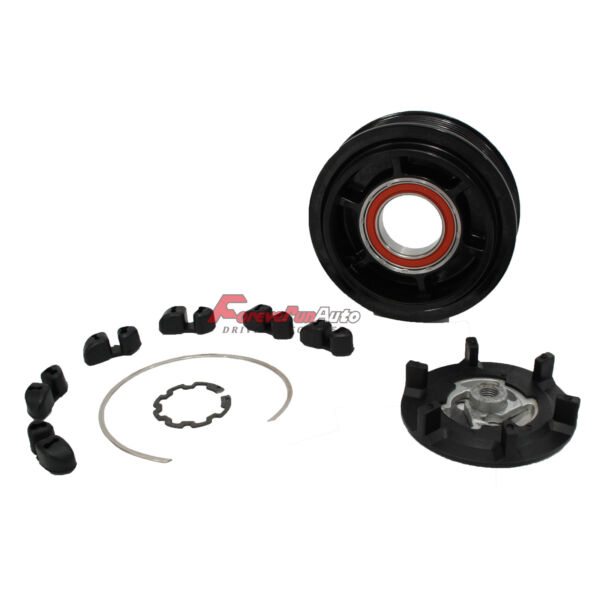 New AC Compressor CLUTCH KIT for Mercedes Models 7SEU17C with 6 Groove Pulley $37.00