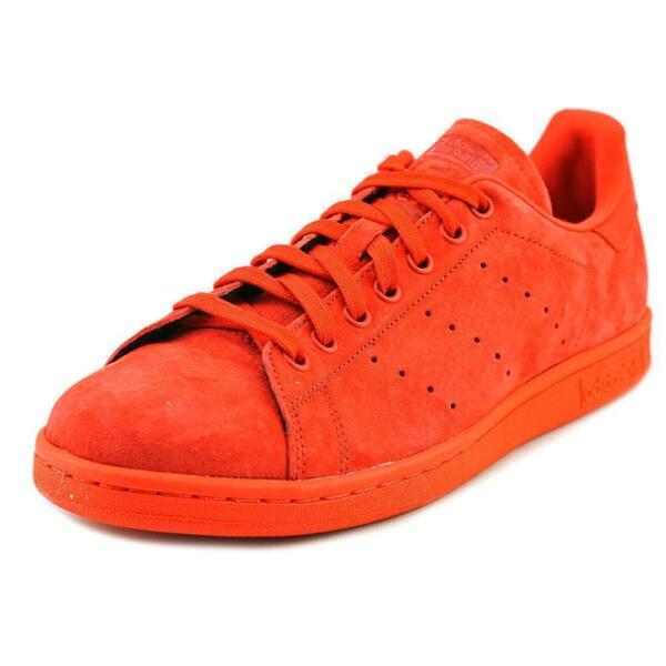 New Adidas Stan Smith Men's Casual Shoes Red/Power Red S75109