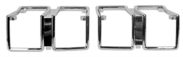 NEW! 1971 Chevy Chevelle Parking Light Lamp Lens Bezels Pair Right and Left Side
