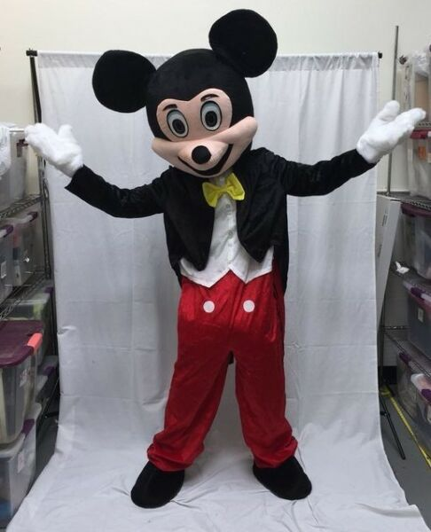 NEW Mickey Mouse Adult Mascot Costume Disney Halloween Party Birthday Cosplay
