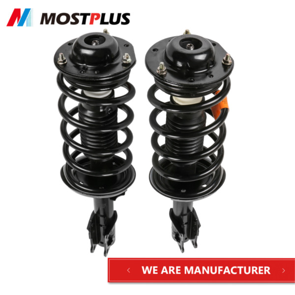 2x Front Complete Struts with Springs amp; Mounts For Malibu G6 Aura LHRH Set