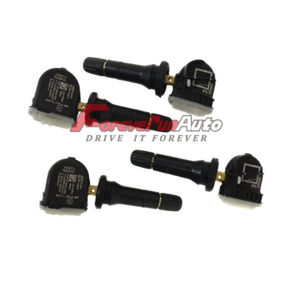 Set of 4   TPMS Tire Pressure Sensor 13598771 For Buick GMC Chevrolet