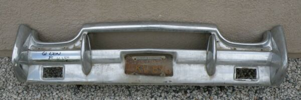 X LINCOLN CONTINENTAL NEW TRIPLE PLATED CHROME FRONT BUMPER 1961 61 OEM