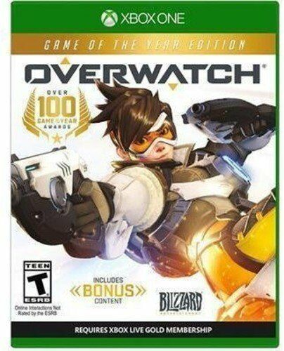 Overwatch Game of the Year Edition - Xbox One Brand New