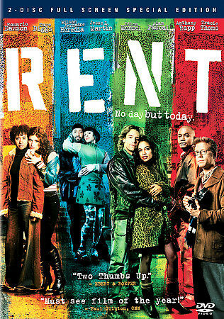 Rent (Fullscreen Two-Disc Special Edition), Good DVD, Porscha Radcliffe, Julia R