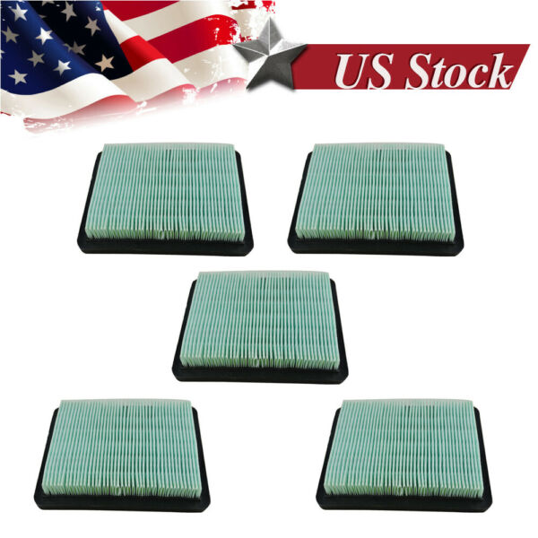 New 5X Air Filter Parts Lawn Mower Cleaner For Honda GC160 HRR216 GCV135160190