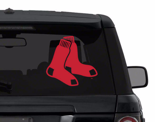 BOSTON RED SOX decal sticker for car, laptop,yeti CHOOSE COLOR die cut vinyl