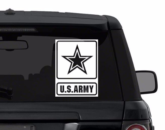 US ARMY decal sticker for car, laptop,yeti CHOOSE COLOR die cut vinyl