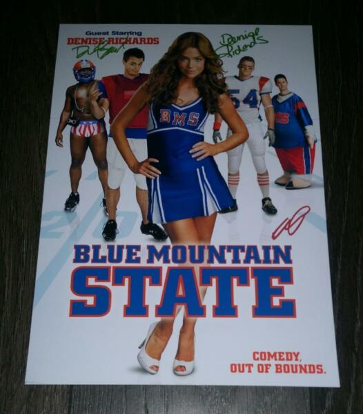 BLUE MOUNTAIN STATE CAST X3 PP SIGNED POSTER 12quot;X8quot; DENISE RICHARDS DARIN S2