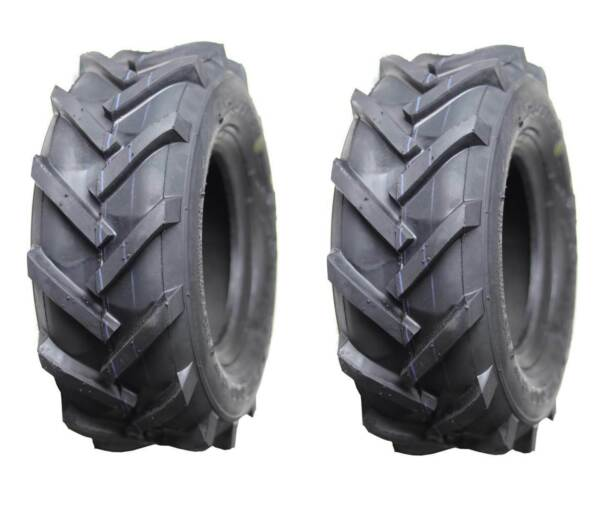 2 Two 13x5.00 6 Tiller Lawn Equipment Lug Tires Set of Two 13x500 6 Tubeless $48.95