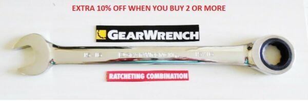 Gearwrench  Ratcheting Wrench  SAE or Metric Combination Ratchet