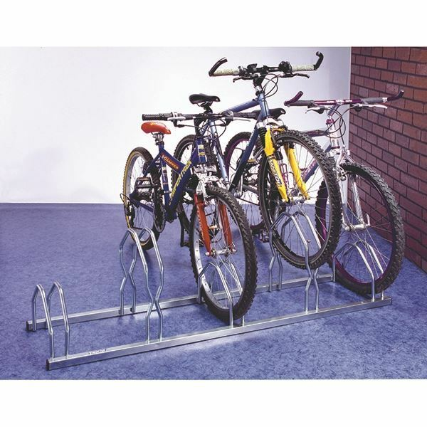 Cycle Rack For 5 Cycles Zinc Plated Grey 320077 SBY10010 GBP 130.53