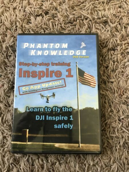 Phantom Knowledge Step-By-Step Training for DJI Inspire 1 Quadcopter (DVD)