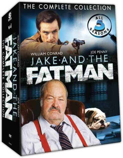 Jake And The Fatman The Complete Collection  5 Seasons  FREE SHIPPING