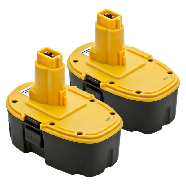 2 New 18V 18 Volt NiCd Battery for Dewalt DC9096 DW9095 DW9096 DW9098 Power Tool