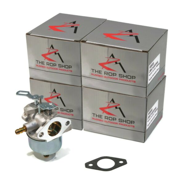 (4) CARBURETORS Carb for Tecumseh 632334A 632111 HM70 HM80 HMSK80 HMSK90 Engines