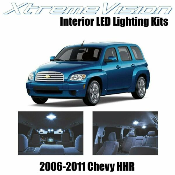 XtremeVision LED for Chevy HHR 2006 2011 11 Pieces Cool White Premium Interior
