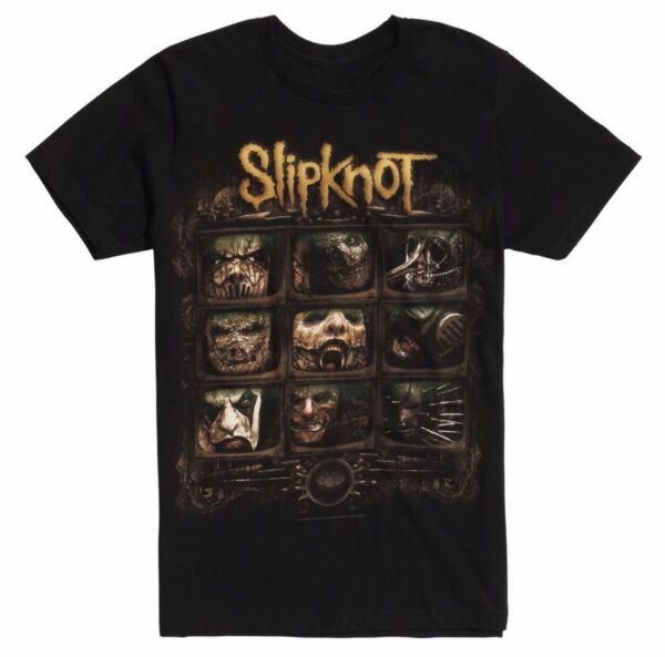 Slipknot VIDEO SCREEN T-Shirt NEW Authentic & Licensed Front & Back Design