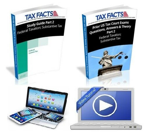 e-Book Tax Court Exam Study USTCP Substantive Tax Law Bundle