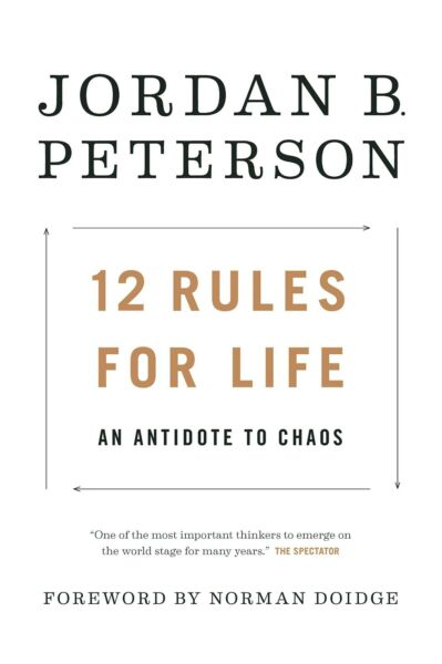 12 Rules for Life: by Jordan B. Peterson [Hardcover] FREE SHIPPING BRAND NEW