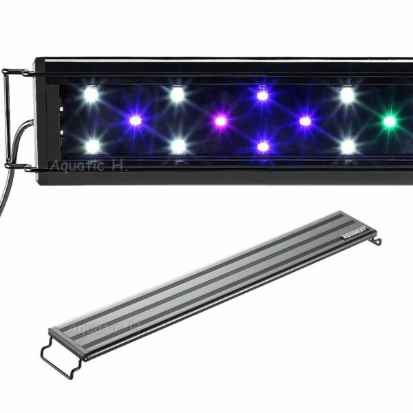 Aquaneat LED Aquarium Light Multi Color Full Spec Marine FOWLR 12 20 24 30 36 48 $23.99