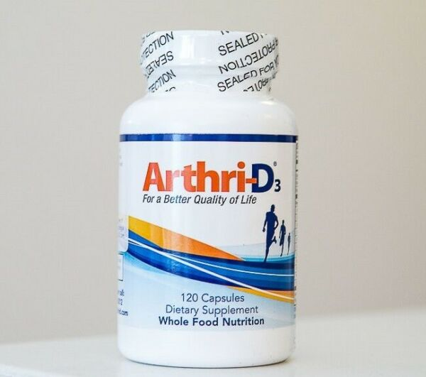 1 *AUTHENTIC* Arthri D3 for Joint Pain Relief 120 capsules FREE Same Day Ship $56.79