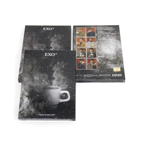 [EXO] Exo Universe Album 2017 Winter Special Album : Universe/New, Sealed