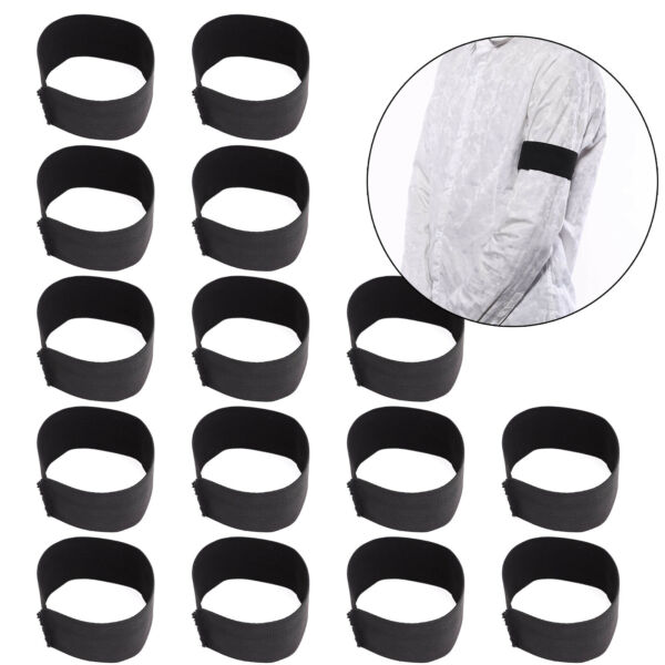 15Pcs Memorial Armband Funeral Mourning Football Sports Clubs Respect