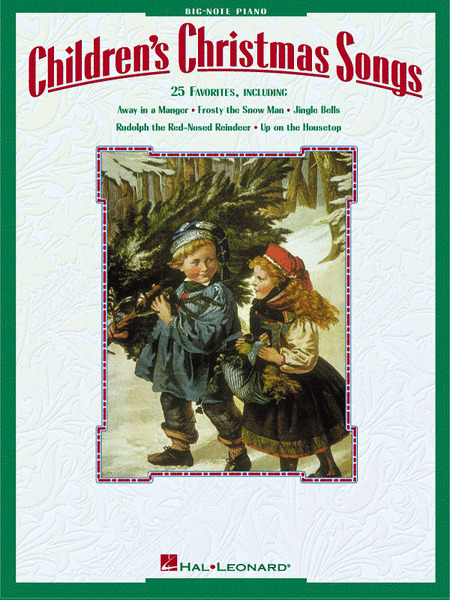 Children's Christmas Songs BIG NOTE Piano MUSIC BOOK-BRAND NEW ON SALE SONGBOOK!