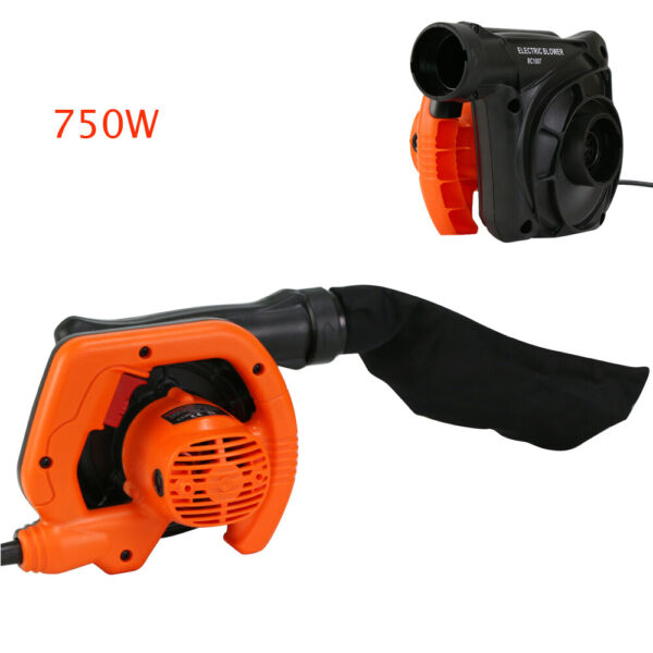 Electric Handheld Leaf Blower Lawn Yard Suction Sweeper Cleaner Vacuum Outdoor