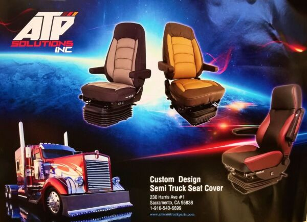 2008-2017  Freightliner Cascadia  Semi Truck Seat Cover