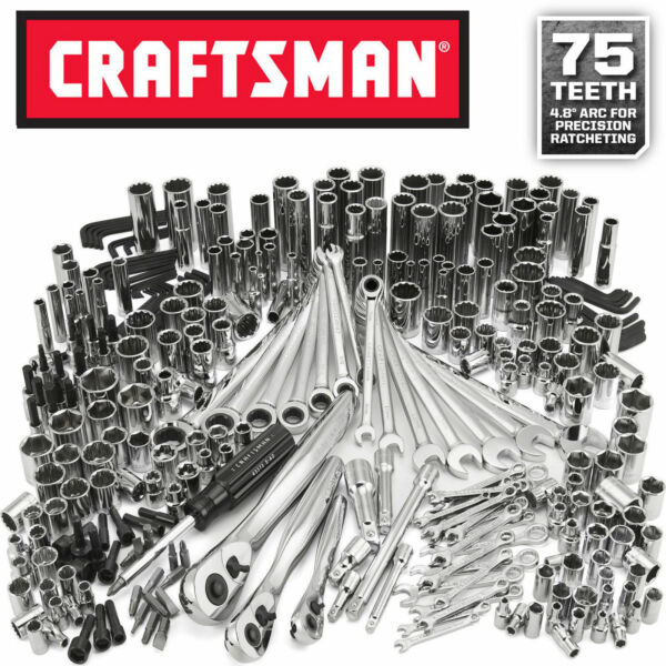 Craftsman 311 pc Mechanics Tool Set Ratcheting Combination Wrench BRAND NEW!!