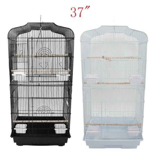 Large Tall Bird Parrot Cage Canary Parakeet Cockatiel Finch Cage