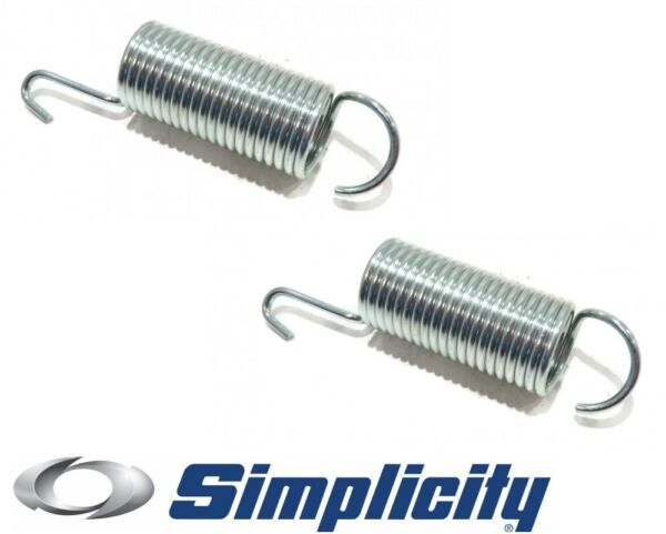 2 New Genuine OEM SPRING EXTENSIONS fit Simplicity Axion 7800379 7800382 Mower