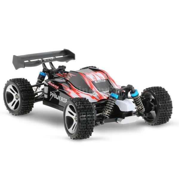 Wltoys A959 Upgraded Version 1/18 Scale 2.4G Remote Control 4WD FPV RTR T7U9