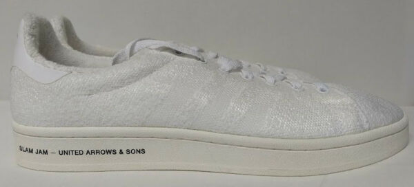 Adidas Campus SE SLAMJAM Size 10.5 United Arrows Sons White Mens Shoe BB6449