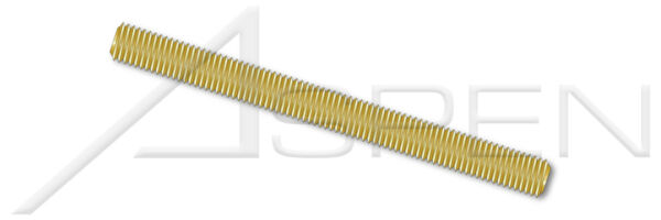 1 pcs M24-3.0 X 1m DIN 975 Threaded Rods Brass