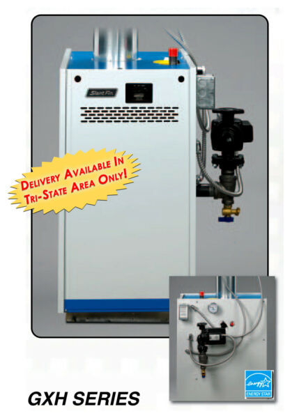 Slant Fin Galaxy GXH 300 HEDPZT Natural Gas Steam Boiler Tankless Heater W Coil $3930.75