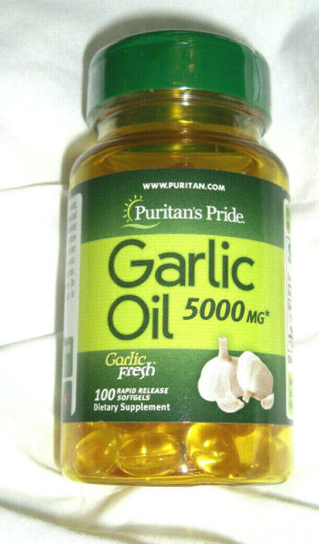 Garlic Oil 1000Mg Bulb Concentrate 100 Pills Softgels