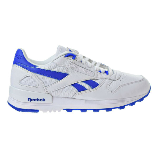 Reebok Classic Leather 2.0 Mens Soft Comfortable Sneakers White/Vital Blue